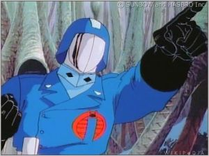 Cobra Commander's work to expand health insurance coverage to the unemployed has not had the same impact on his legacy as his fiendish plots for world domination.