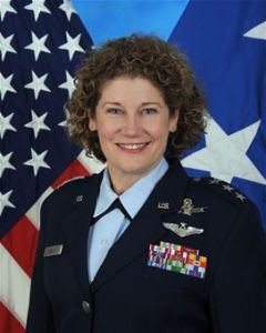 US Air Force Lt. Gen. Susan J. Helms
